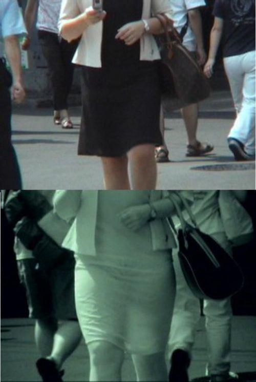 【盗撮画像】赤外線カメラで素人パンティを街撮りした結果www 33枚 No.24