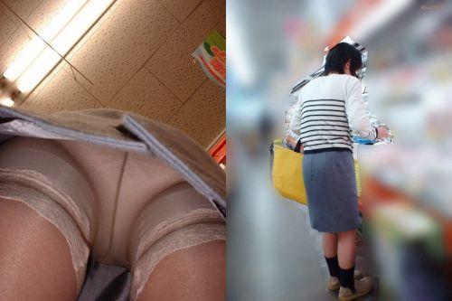 【画像】エロイ盛りのOLさんを熟女多めで逆さ撮りで盗撮した結果www 40枚 No.13