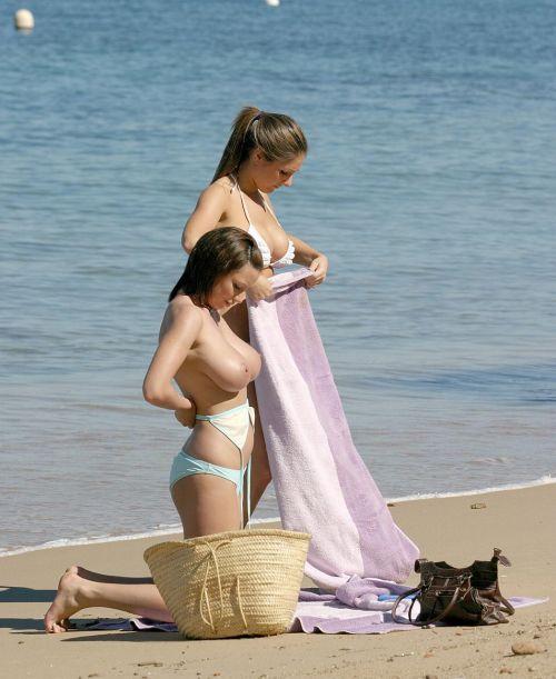【画像】フリーダムエロなヌーディストビーチの全裸外国人が凄いw No.14