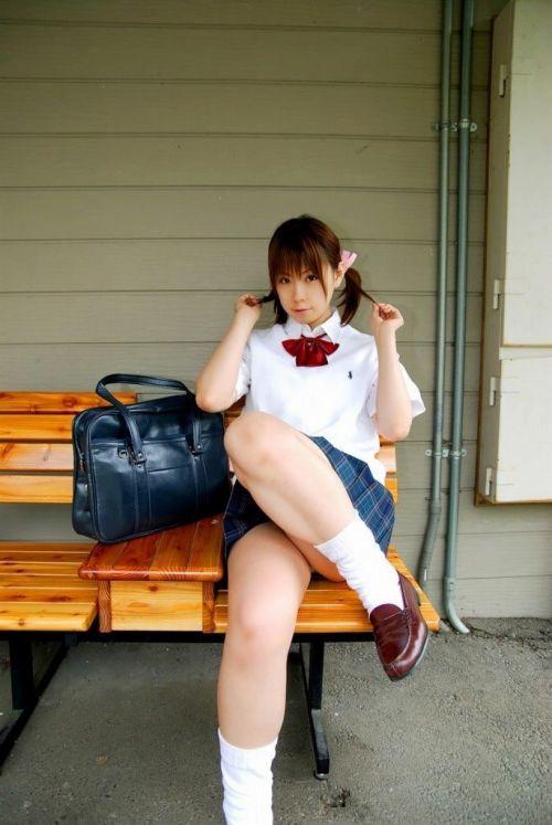 ゲキカワJKモデルの画像で軽くムラっとしてシコる準備しちゃおうぜwww No.34
