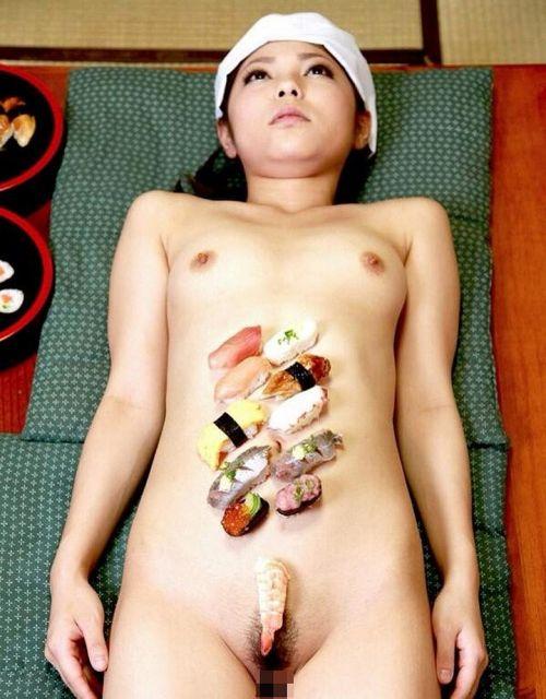 【エロ画像】食欲と性欲を同時に満たせる女体盛りを比較しようぜwww 40枚 No.5