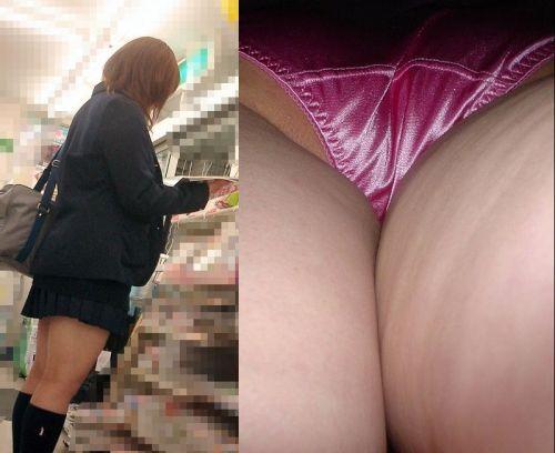 【画像】JKのミニスカの中身を超接写で逆さ撮りした結果www 35枚 part.11 No.9
