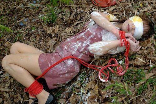 【画像】SMプレイの縄で縛られるおっぱいやお尻がエロ過ぎwww No.18