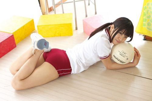 かわいい女子高生の体操服でブルマ姿まとめ 37枚 part.13 No.14