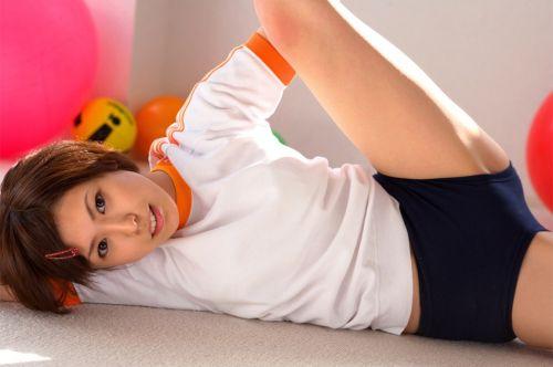 かわいい女子高生の体操服でブルマ姿まとめ 37枚 part.13 No.36