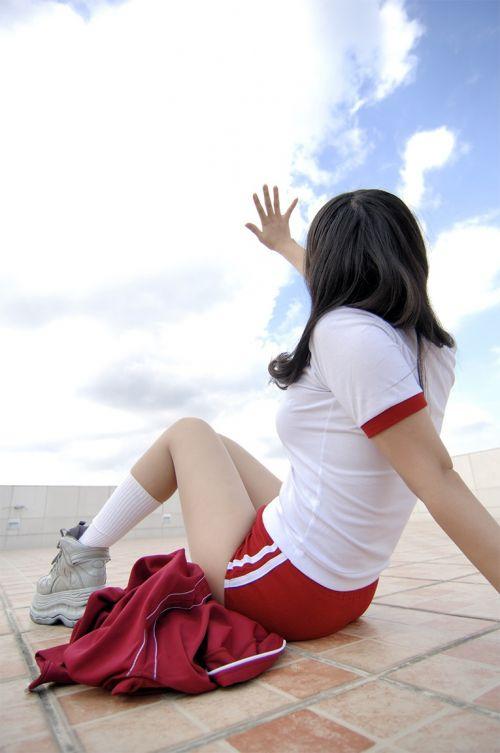 かわいい女子高生の体操服でブルマ姿まとめ 37枚 part.13 No.37