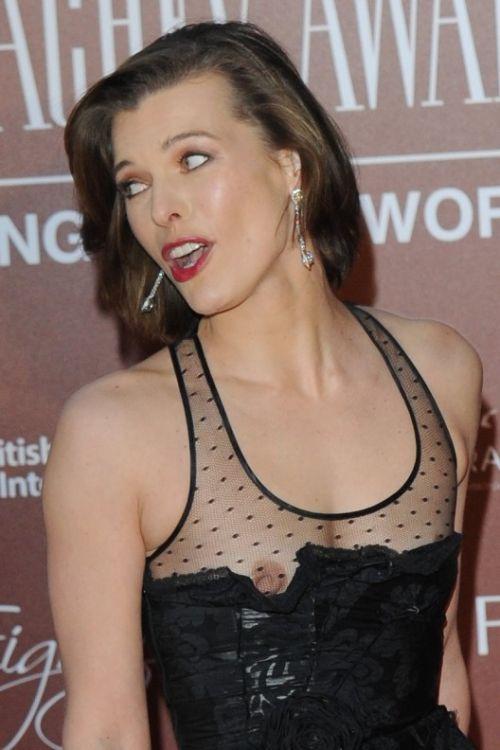 海外セレブやハリウッド女優が堂々と乳首ポロリしているエロ画像 36枚 No.9