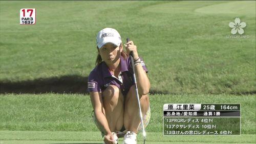 TVにゴルフのグリーンが映るとパンチラが気になっちゃうエロ画像 42枚 No.28