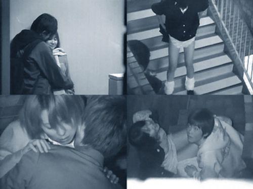 【エロ画像】野外セックス中のカップルを赤外線カメラで盗撮した結果www 33枚 No.1