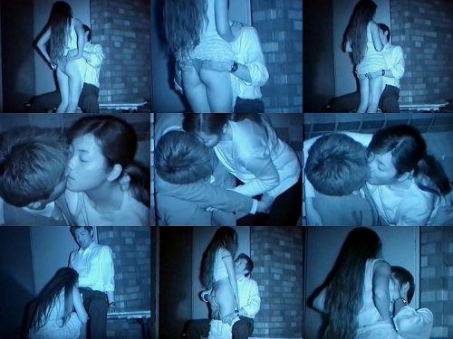 【エロ画像】野外セックス中のカップルを赤外線カメラで盗撮した結果www 33枚 No.4
