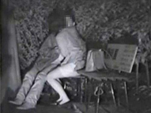 【エロ画像】野外セックス中のカップルを赤外線カメラで盗撮した結果www 33枚 No.15