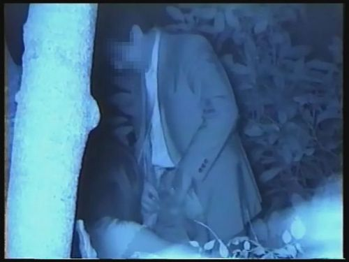 【エロ画像】野外セックス中のカップルを赤外線カメラで盗撮した結果www 33枚 No.23