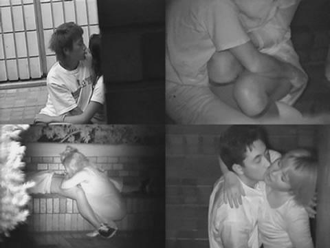 【エロ画像】野外セックス中のカップルを赤外線カメラで盗撮した結果www 33枚 No.24