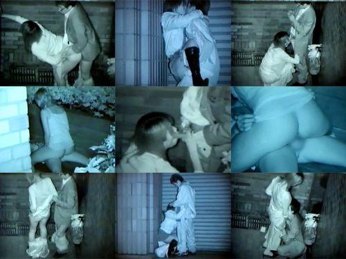 【エロ画像】野外セックス中のカップルを赤外線カメラで盗撮した結果www 33枚 No.26