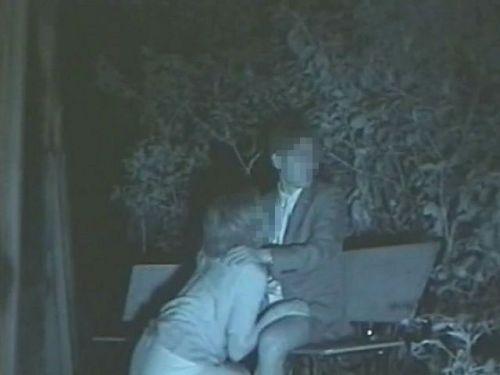 【エロ画像】野外セックス中のカップルを赤外線カメラで盗撮した結果www 33枚 No.28