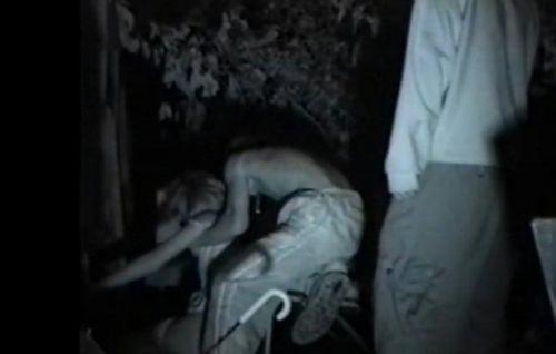 【エロ画像】野外セックス中のカップルを赤外線カメラで盗撮した結果www 33枚 No.33