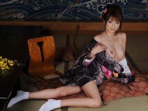 着物姿のお姉さんと一度はセックスしたくなるエロ画像まとめ 33枚 No.1
