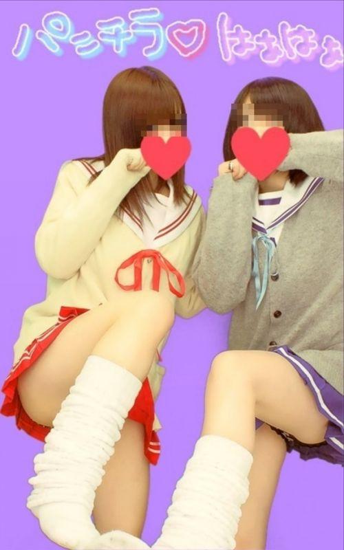 【エロ画像】女子高生達がプリクラで弾けて悪ノリし過ぎwww 39枚 No.5