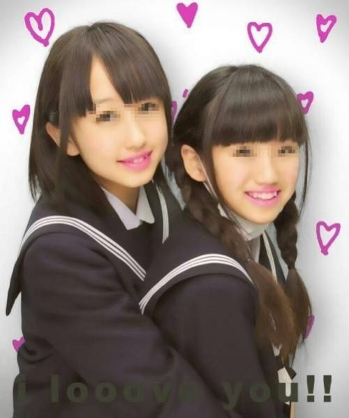 【エロ画像】女子高生達がプリクラで弾けて悪ノリし過ぎwww 39枚 No.10