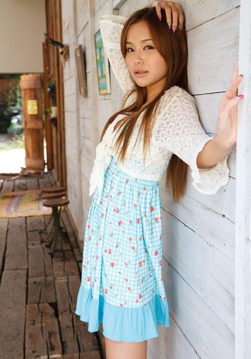 丘咲エミリ長髪で子顔の美脚スレンダーな綺麗なお姉さんのエロ画像 150枚 No.5