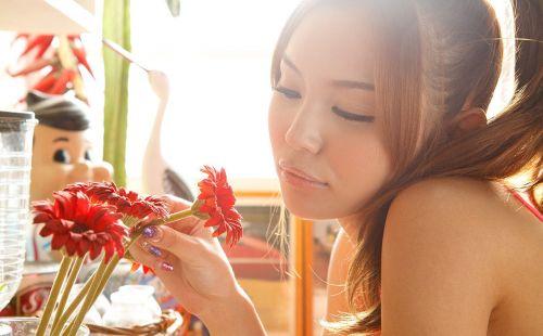 丘咲エミリ長髪で子顔の美脚スレンダーな綺麗なお姉さんのエロ画像 150枚 No.20
