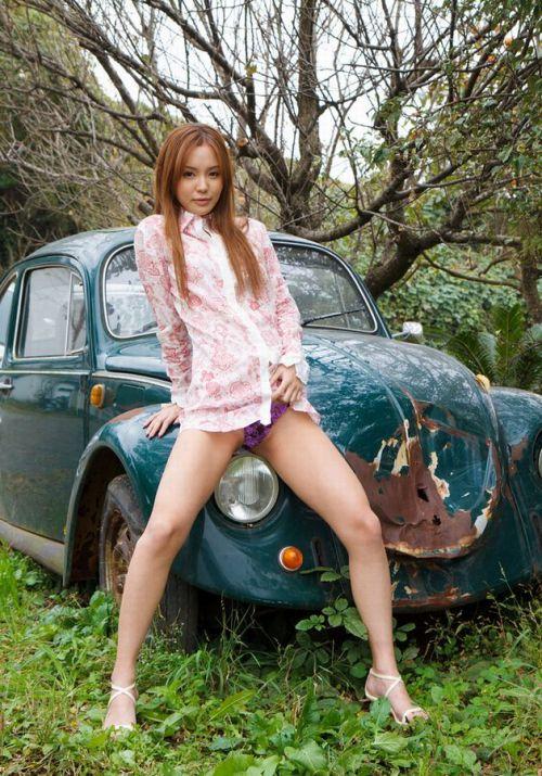 丘咲エミリ長髪で子顔の美脚スレンダーな綺麗なお姉さんのエロ画像 150枚 No.51