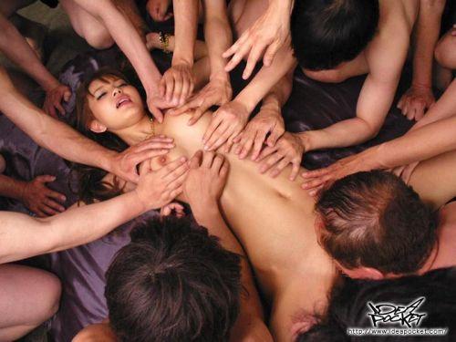 丘咲エミリ長髪で子顔の美脚スレンダーな綺麗なお姉さんのエロ画像 150枚 No.106