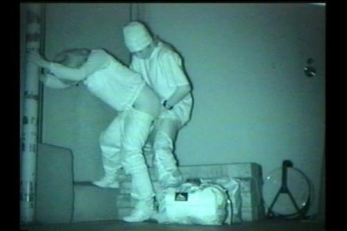 野外で後背位セックスしてるカップルを赤外線カメラで盗撮したエロ画像www 34枚 No.2
