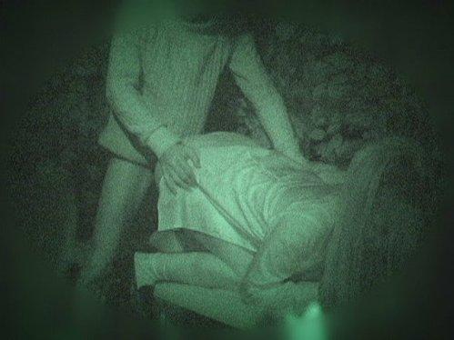 野外で後背位セックスしてるカップルを赤外線カメラで盗撮したエロ画像www 34枚 No.4