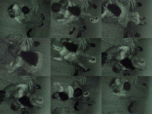 野外で後背位セックスしてるカップルを赤外線カメラで盗撮したエロ画像www 34枚 No.8