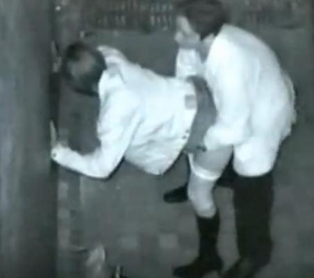 野外で後背位セックスしてるカップルを赤外線カメラで盗撮したエロ画像www 34枚 No.21
