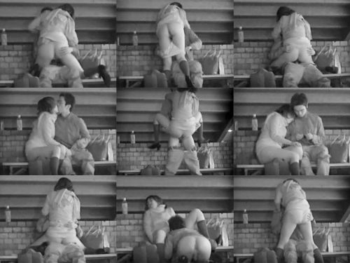 野外で騎乗位セックスしているカップルを赤外線カメラで盗撮エロ画像 45枚 No.38