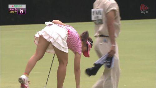女子プロゴルファーのお宝パンチラ・太ももたっぷりエロ画像まとめ 39枚 No.2