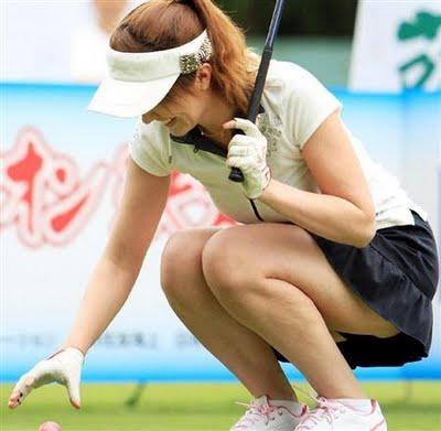 女子プロゴルファーのお宝パンチラ・太ももたっぷりエロ画像まとめ 39枚 No.6