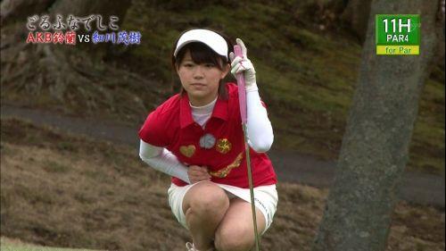 女子プロゴルファーのお宝パンチラ・太ももたっぷりエロ画像まとめ 39枚 No.7