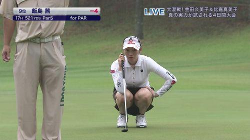 女子プロゴルファーのお宝パンチラ・太ももたっぷりエロ画像まとめ 39枚 No.24