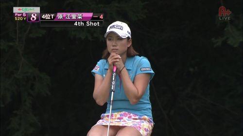 女子プロゴルファーのお宝パンチラ・太ももたっぷりエロ画像まとめ 39枚 No.25