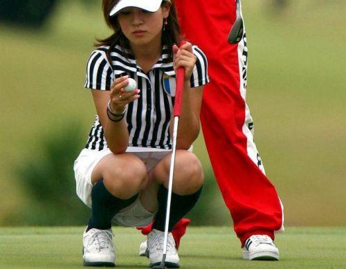 女子プロゴルファーのお宝パンチラ・太ももたっぷりエロ画像まとめ 39枚 No.28