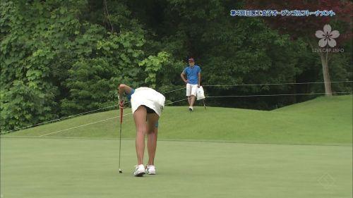 女子プロゴルファーのお宝パンチラ・太ももたっぷりエロ画像まとめ 39枚 No.36