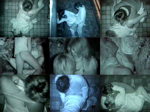 赤外線カメラで野外正常位セックス中のカップルを盗撮したエロ画像 45枚 No.12