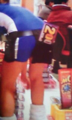 パチンコ店の店員さんのミニスカのパンティを逆さ撮り盗撮画像 39枚 No.5