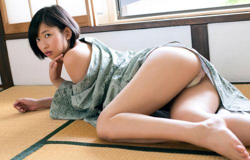【エロ画像】100cm巨尻アイドル倉持由香の尻がエロ過ぎワロタwww 122枚 No.23
