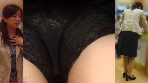 【盗撮】素人熟女の逆さ撮り画像で履いてるパンティのエロさを比較しようぜwww 42枚 No.31