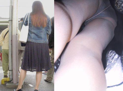 【盗撮】素人熟女の逆さ撮り画像で履いてるパンティのエロさを比較しようぜwww 42枚 No.33