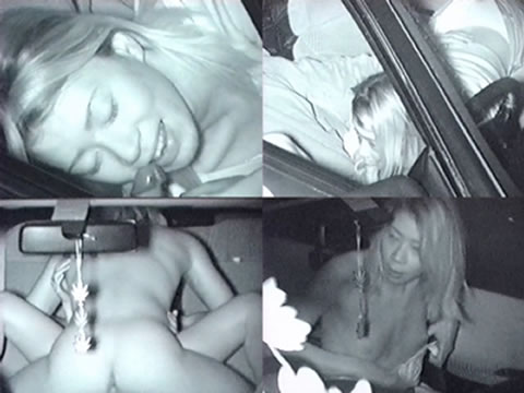 【画像】カーセックスしているバカップルを赤外線カメラで盗撮したったwww 38枚 No.7