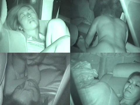 【画像】カーセックスしているバカップルを赤外線カメラで盗撮したったwww 38枚 No.20