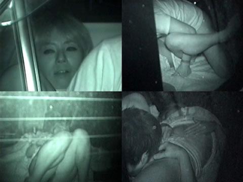 【画像】カーセックスしているバカップルを赤外線カメラで盗撮したったwww 38枚 No.25