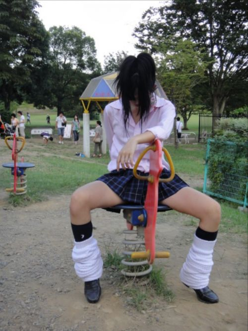 素人JKのおふざけ・悪ノリちょいエロ画像まとめ 37枚 No.20