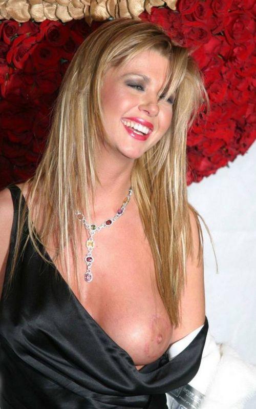 おっぱい見せやハプニングが人気のステータスなハリウッド女優のエロ画像 35枚 No.33