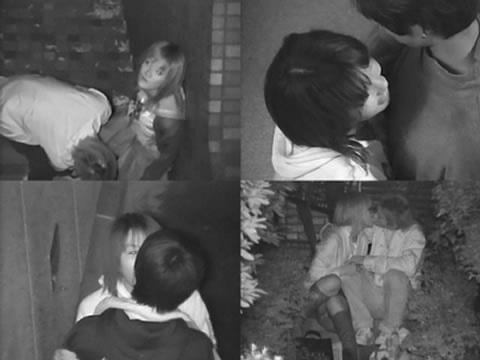 【盗撮画像】若いカップルの野外セックスが赤外線カメラで丸見えだわwww 32枚 No.28